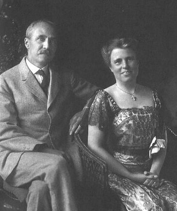 Photo of Godfrey Lowell Cabot and Maria Moors Cabot